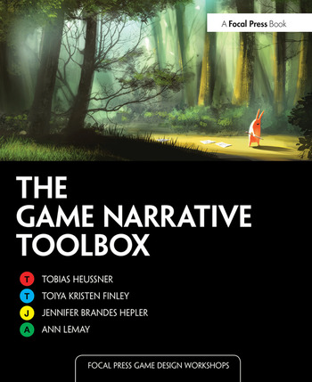 The Game Narrative Toolbox book cover