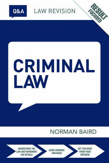 Q&A Criminal Law book cover