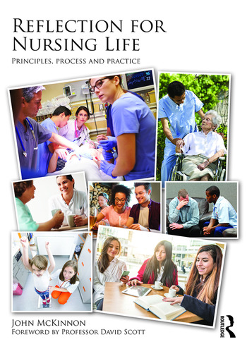 Reflection for Nursing Life Principles, Process and Practice book cover