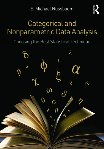 Categorical and Nonparametric Data Analysis Choosing the Best Statistical Technique book cover