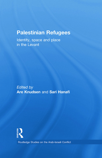 Palestinian Refugees Identity, Space and Place in the Levant book cover