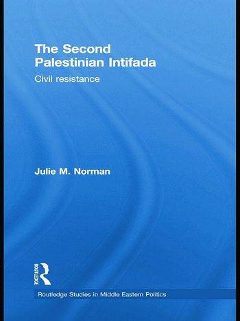 The Second Palestinian Intifada Civil Resistance book cover