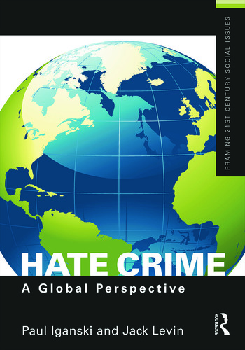 Hate Crime A Global Perspective book cover