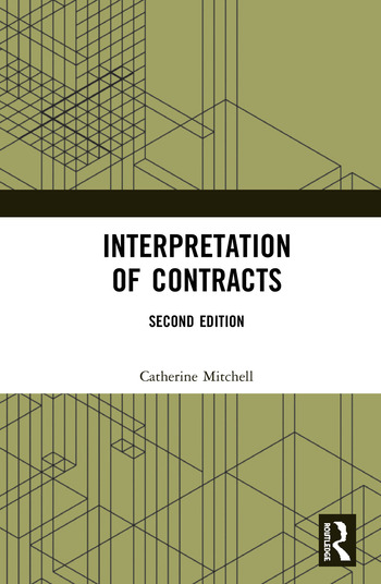 Interpretation of Contracts book cover