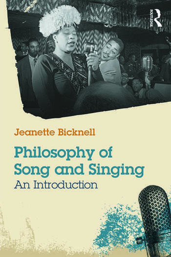 Philosophy of Song and Singing An Introduction book cover