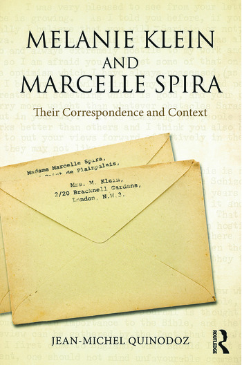 Melanie Klein and Marcelle Spira: Their correspondence and context book cover