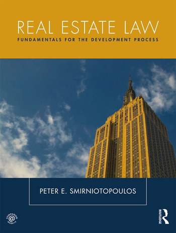 Real Estate Law Fundamentals for The Development Process book cover