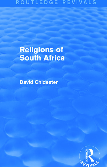 Religions of South Africa (Routledge Revivals) book cover