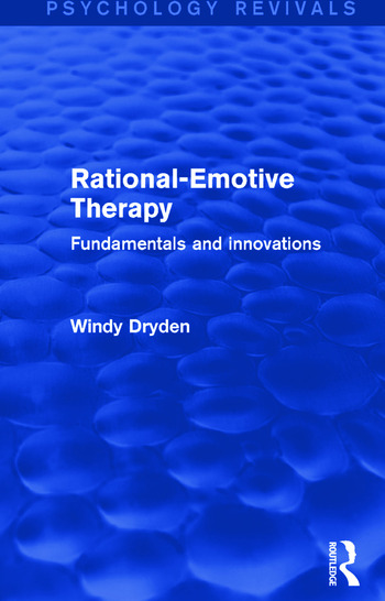 Rational-Emotive Therapy Fundamentals and Innovations book cover