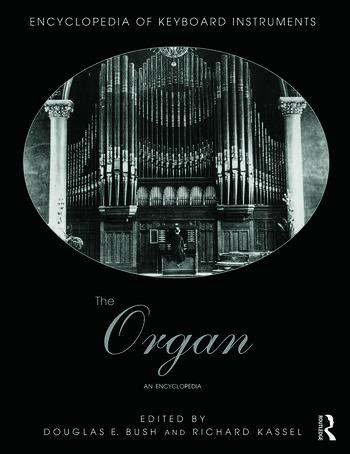The Organ An Encyclopedia book cover