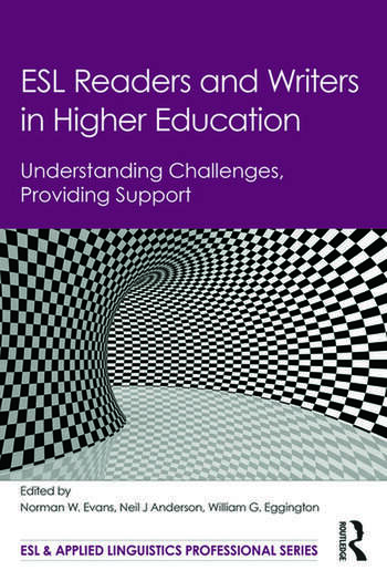 ESL Readers and Writers in Higher Education Understanding Challenges, Providing Support book cover