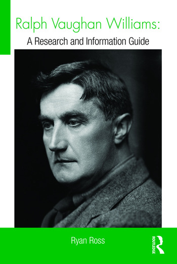 Ralph Vaughan Williams A Research and Information Guide book cover