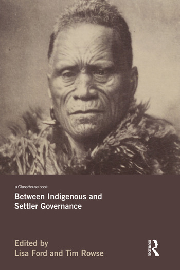 Between Indigenous and Settler Governance book cover