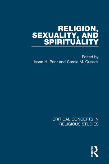 Religion, Sexuality, and Spirituality book cover