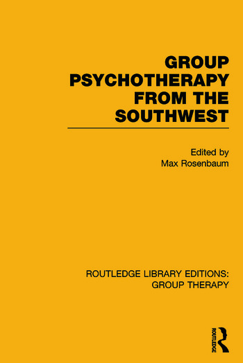 Routledge Library Editions: Group Therapy book cover