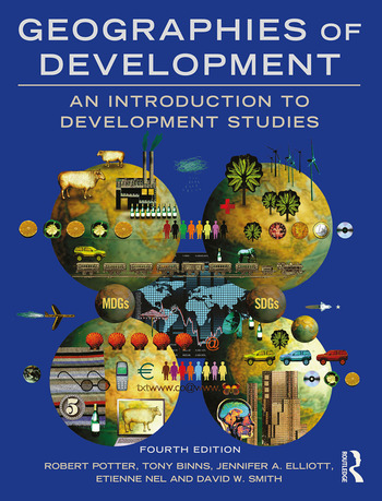 Geographies of Development An Introduction to Development Studies book cover