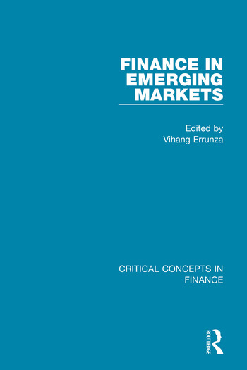 Finance in Emerging Markets book cover