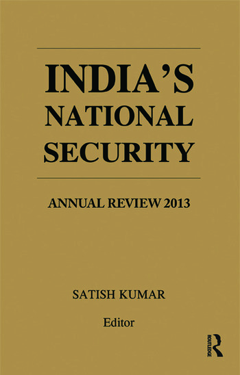 India's National Security Annual Review 2013 book cover