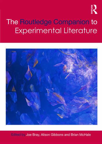 The Routledge Companion to Experimental Literature book cover