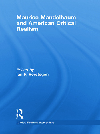 Maurice Mandelbaum and American Critical Realism book cover