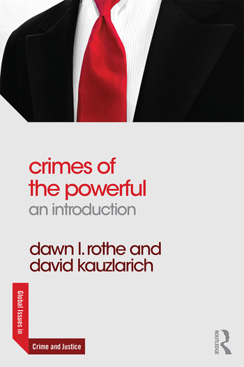 Crimes of the Powerful An Introduction book cover