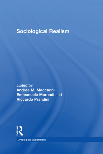 Sociological Realism book cover