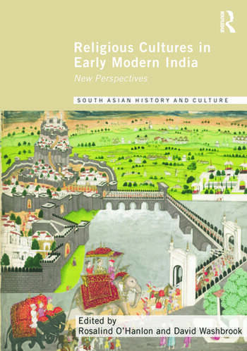Religious Cultures in Early Modern India New Perspectives book cover