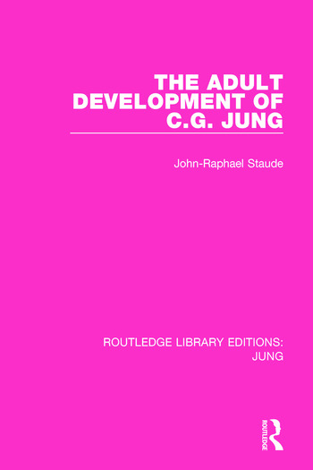 The Adult Development of C.G. Jung book cover