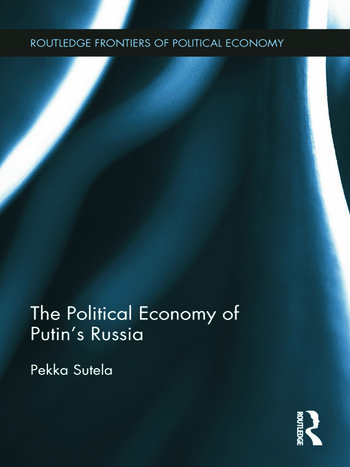 The Political Economy of Putin's Russia book cover