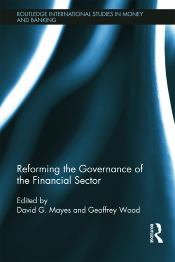 Reforming the Governance of the Financial Sector book cover