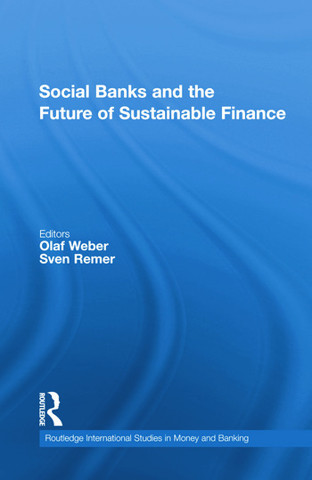 Social Banks and the Future of Sustainable Finance book cover