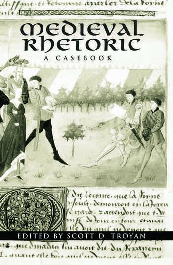 Medieval Rhetoric A Casebook book cover