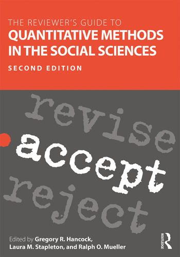 The Reviewer's Guide to Quantitative Methods in the Social Sciences book cover