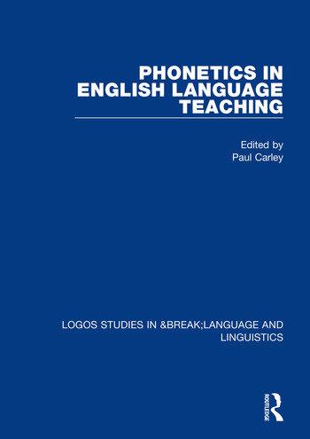 Phonetics in English Language Teaching book cover