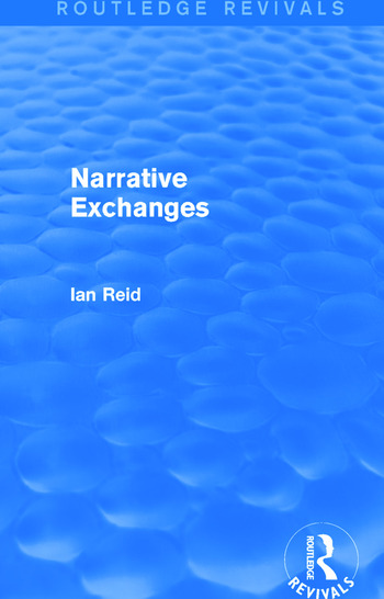 Narrative Exchanges (Routledge Revivals) book cover
