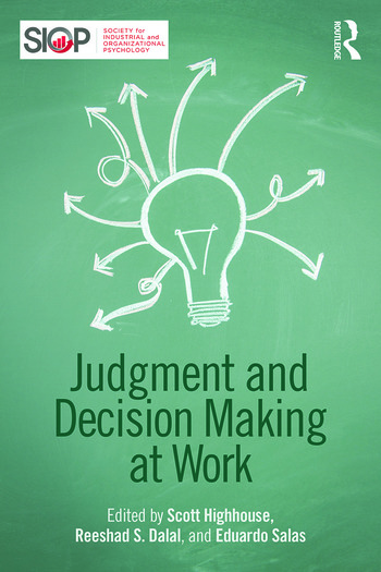 Judgment and Decision Making at Work book cover