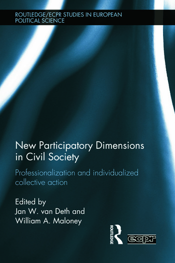 New Participatory Dimensions in Civil Society Professionalization and Individualized Collective Action book cover