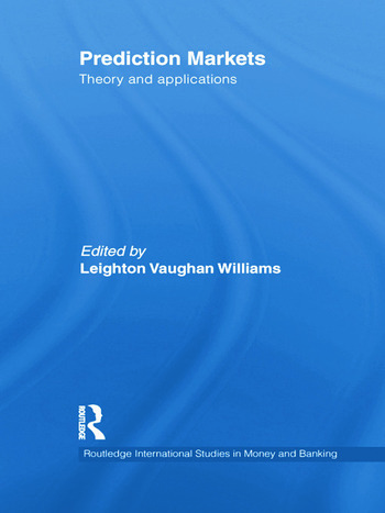 Prediction Markets Theory and Applications book cover