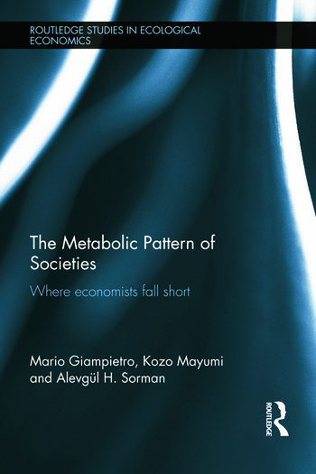 The Metabolic Pattern of Societies Where Economists Fall Short book cover
