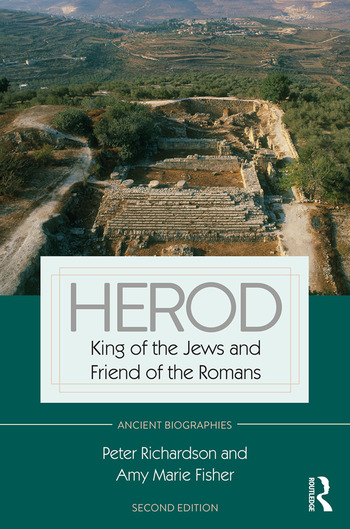 Herod King of the Jews and Friend of the Romans book cover
