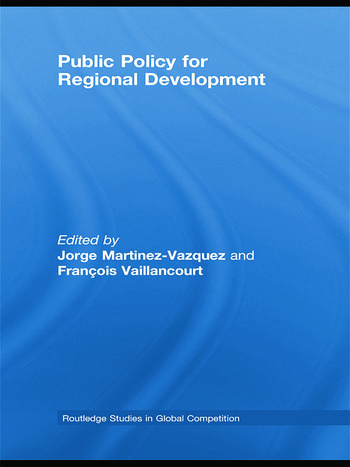 Public Policy for Regional Development book cover
