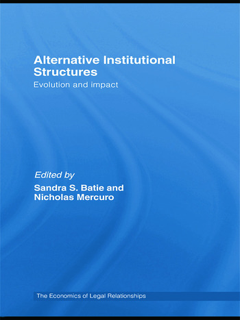 Alternative Institutional Structures Evolution and impact book cover