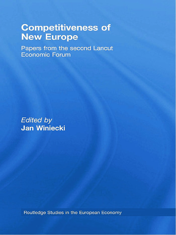 Competitiveness of New Europe Papers from the Second Lancut Economic Forum book cover
