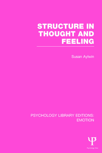 Structure in Thought and Feeling book cover