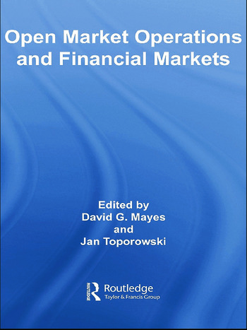 Open Market Operations and Financial Markets book cover