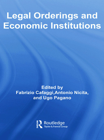 Legal Orderings and Economic Institutions book cover