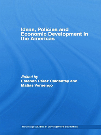 Ideas, Policies and Economic Development in the Americas book cover