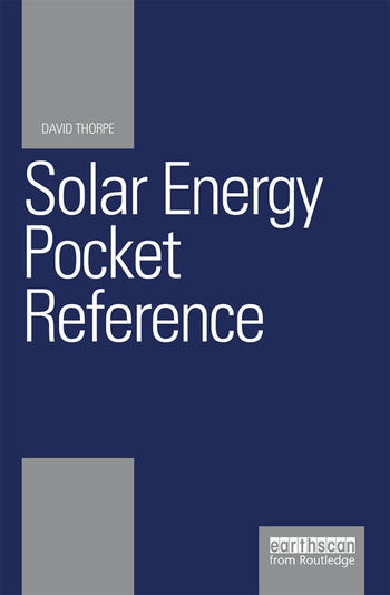 Solar Energy Pocket Reference book cover