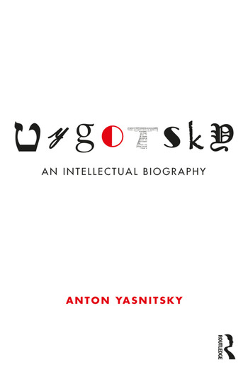 Vygotsky An Intellectual Biography book cover