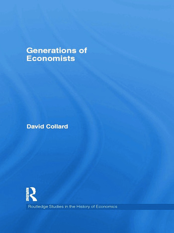 Generations of Economists book cover